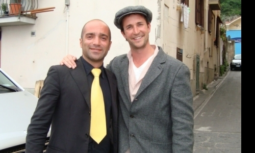 Lorenzo with Noah Wyle