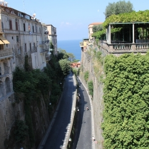 Way to the harbour of Sorrento